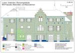 Dreilinden estate Lucerne (CH), economy building, materials