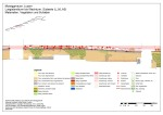 City wall of Lucerne, wall section (CH), damage overview