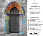 Utstein monastery, portal (NO), damages