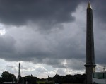 The Paris obelisk at Place de la Concorde