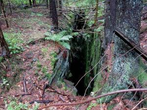 Smal på overflaten, men denne gruva - trolig