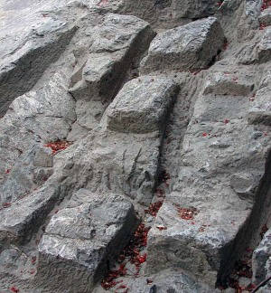 Traces of medieval extraction of soapstone ashlars at the Bakkaune qyarry in Trondheim