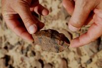 Egypt (Wadi Abu Subeira, Aswan): lithic from the Old Stone Age