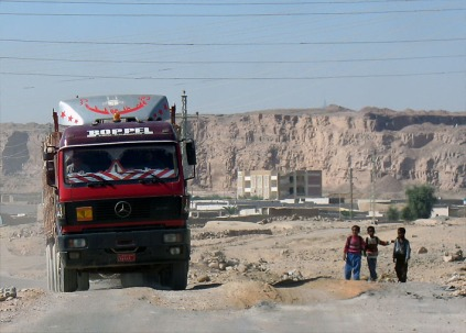 Wadi Abu Subeira - a zone of heavy industry. Photo: Per Storemyr