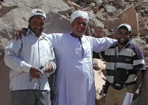 Subeira: Cooperation between the mining industry and archaeologists is also possible. Photo: Adel Kelany