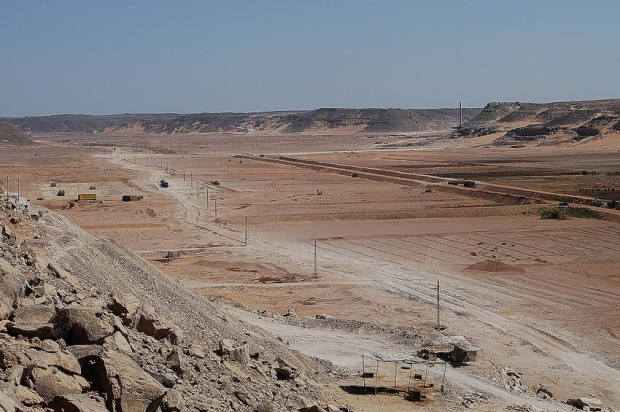 Wadi Abiu Subeira seen from west. Photo: Per Storemyr