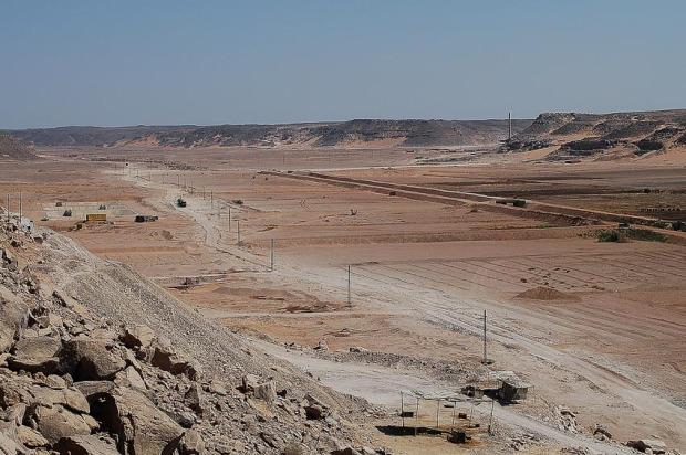 Wadi Abiu Subeira seen from west. Photo: Per Storemyr