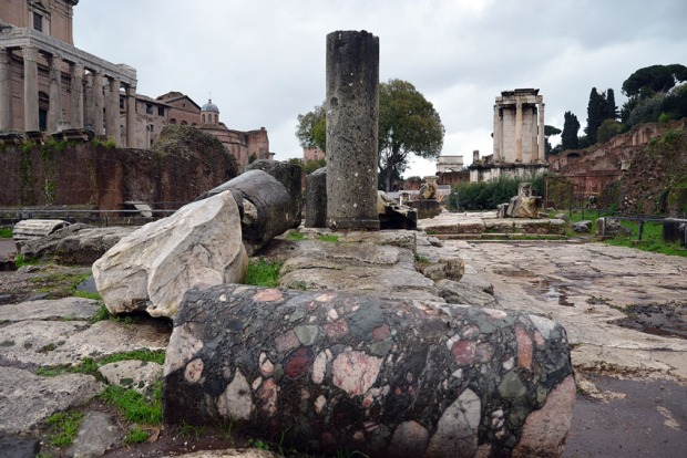 Marmo Africano at Forum Romanum. Photo: Per Storemyr