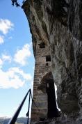 The entrance to Kropfenstein cave castle. Photo: Per Storemyr