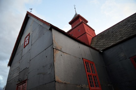 Norway: This is also a way of protecting wooden churches! Slate at the facades of Dovre church in Central Norway. Photo: Per Storemyr.