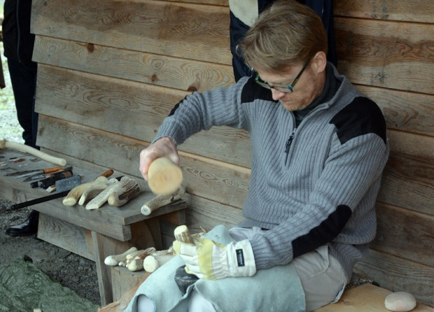 Morten Kutschera i aksjon på Hyllestadseminaret 2015. Foto: Per Storemyr