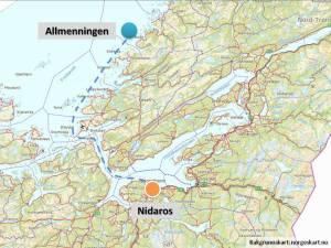 Allmenningen - en liten øy utenfor Fosen der det aldri før hadde blitt hogget stein - kom til å bli den viktigste marmorprodusenten for Nidarosdomen i middelalderen. Herfra kom det tusenvis av slanke søyler til Europas nordligste katedral.
