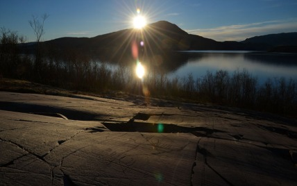 The rock art at Alta never ceases to fascinate! Here from the Kåfjord site in the fall of 2015. I'm very grateful that I've been able to work with the good people at The World Heritage Rock Art Centre - Alta Museum for some years now. Photo by Per Storemyr