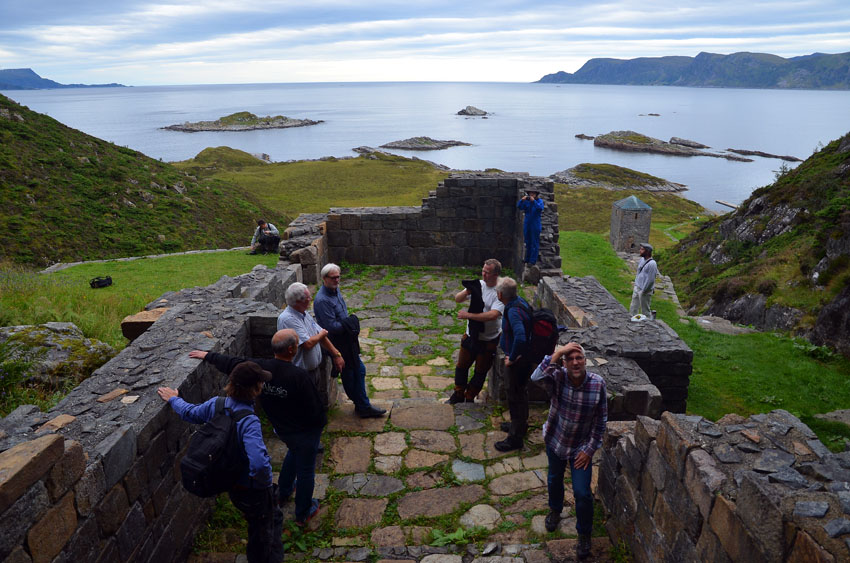 "Another major work that was finished in 2015: On the stone quarries that was used for building medieval monasteries in Norway. More information is forthcoming on my website (but see also under ""Publications"" at my website). Working with the Norwegian Directorate for Cultural Heritage has been just great! Image from a 2015 seminar at Selja monastery at the westernmost tip of Norway. Photo by Per Storemyr"
