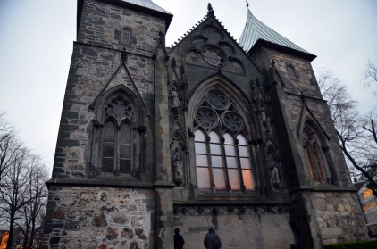 Stavanger Cathedral will be restored over the next 10 years. Thanks a lot to Stavanger municipality and the Archaeological Museum at the University of Stavanger for taking me onboard in the planning phase! Photo of the east front of the cathedral by Per Storemyr