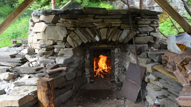 FINALLY: Firing up the kiln, Saturday 3 June, at 10:45 am.