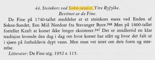 Utdrag fra Fridtjov Birkelis beskrivelse av korset, se https://www.nb.no/nbsok/nb/6aacfbd4cc7d7db0a78a45b9f372a758?index=1#209
