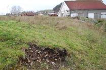 Fra skrottippene i kleberbruddet på Vestre Åmøy. En liten del er åpnet av andre enn meg. Foto: Per Storemyr