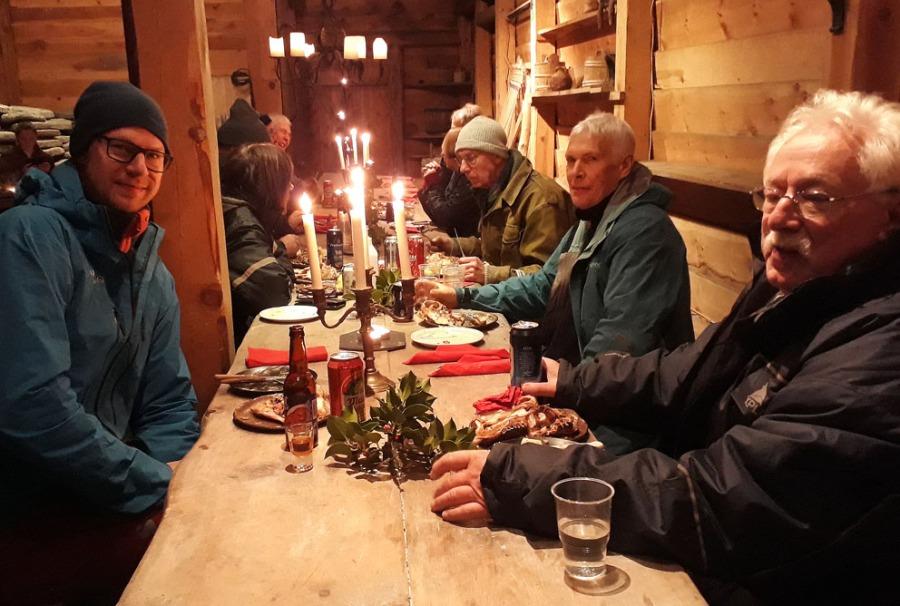 Festmiddag i Storehuset! Foto: Per Storemyr